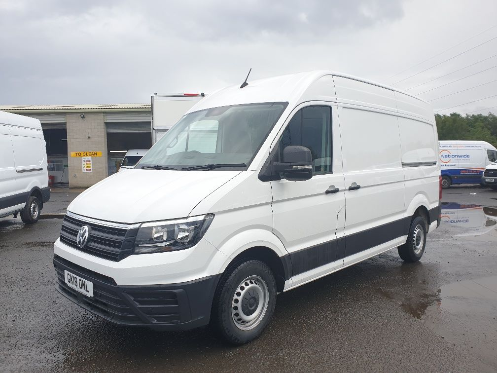 2018 Volkswagen Crafter CR35 2.0 TDI MWB HIGH ROOF 140PS STARTLINE EURO 6 (GK18ONL) Thumbnail 3
