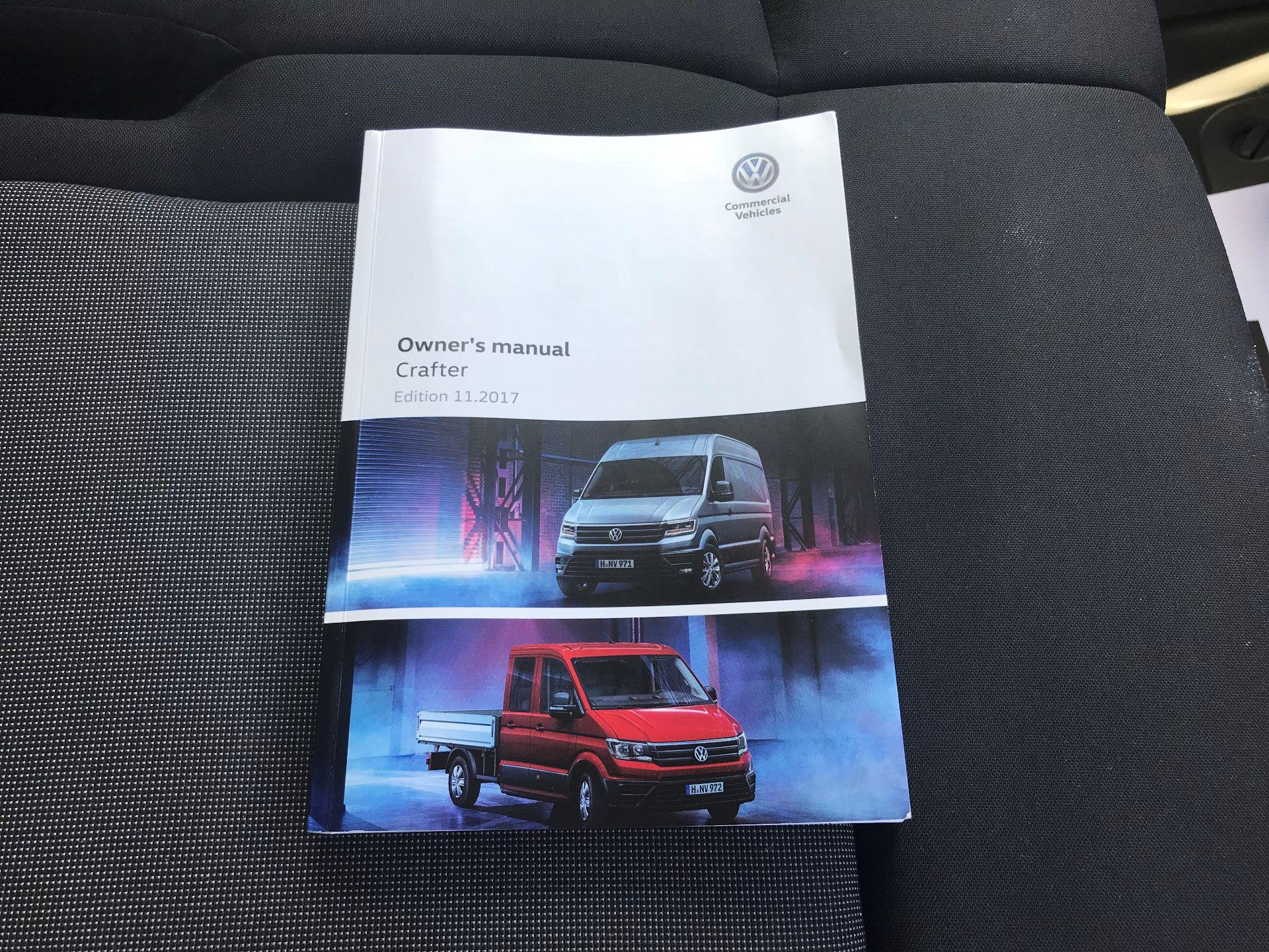 2018 Volkswagen Crafter 2.0 Tdi 140Ps Startline High Roof Van MWB EURO 6 (GK18WMZ) Image 26