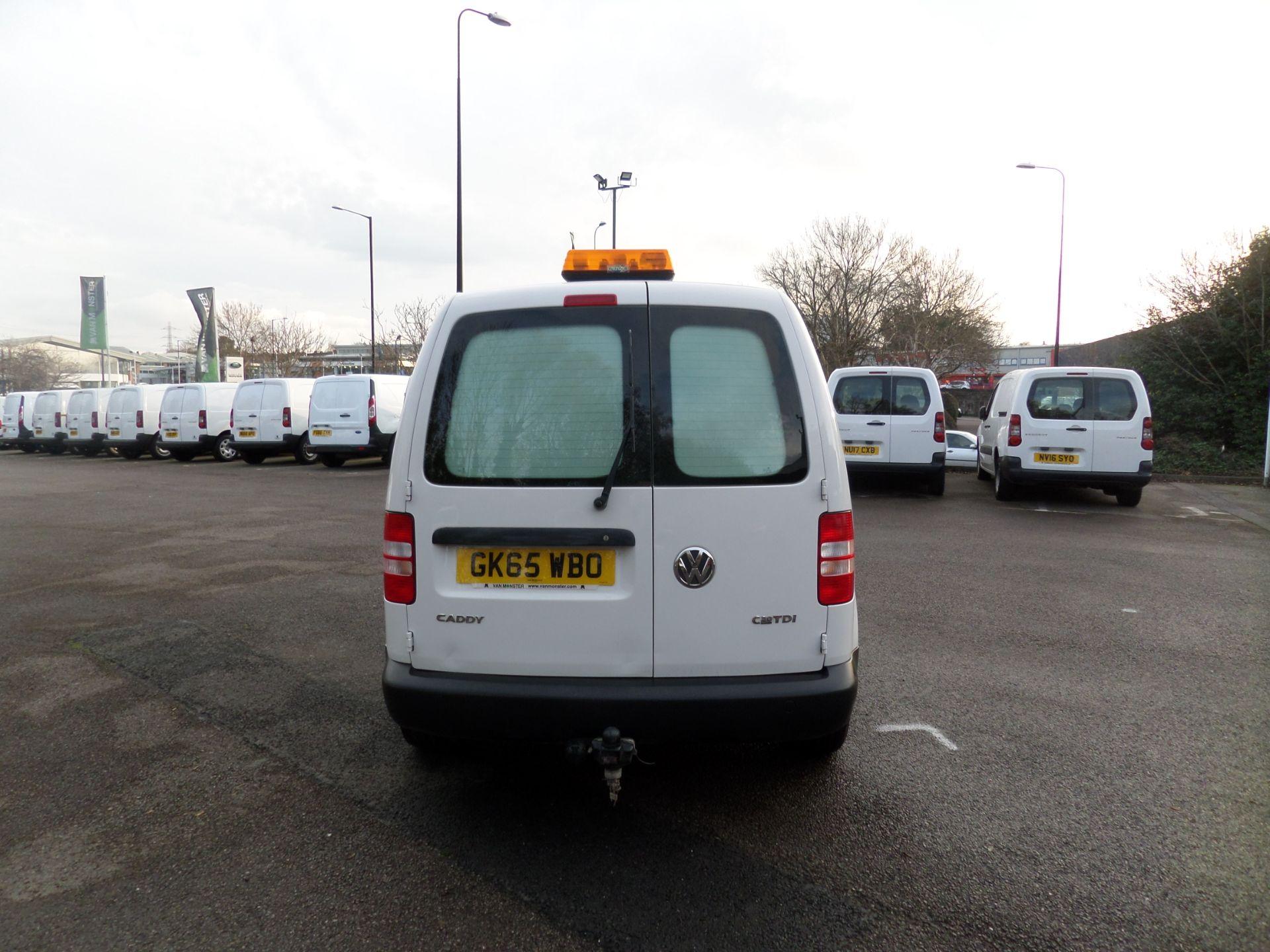 2015 Volkswagen Caddy 1.6 Tdi 75Ps Startline Van (GK65WBO) Image 3