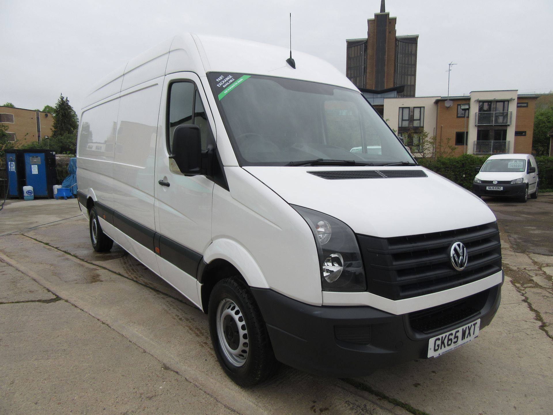 2015 Volkswagen Crafter  CR35 LWB 2.0 TDI 136PS HIGH ROOF EURO 5 (GK65WXT)