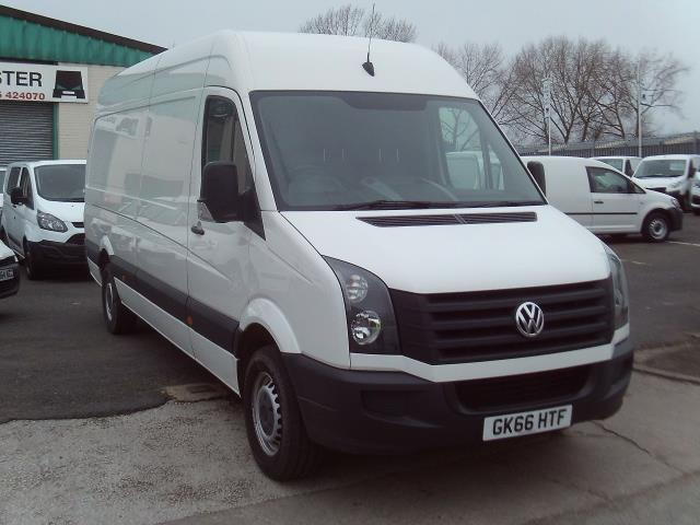 2016 Volkswagen Crafter CR35 lwb High Roof 136ps (GK66HTF)