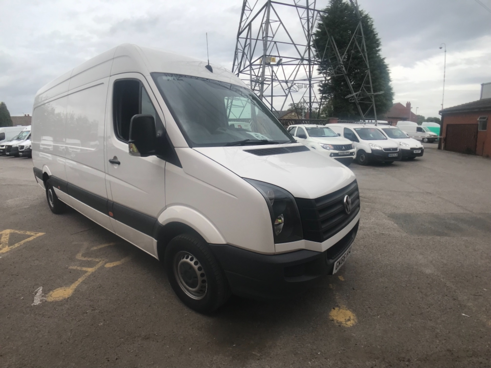 2016 Volkswagen Crafter  CR35 LWB 2.0 TDI 136PS HIGH ROOF EURO 5 (GK66HTU)