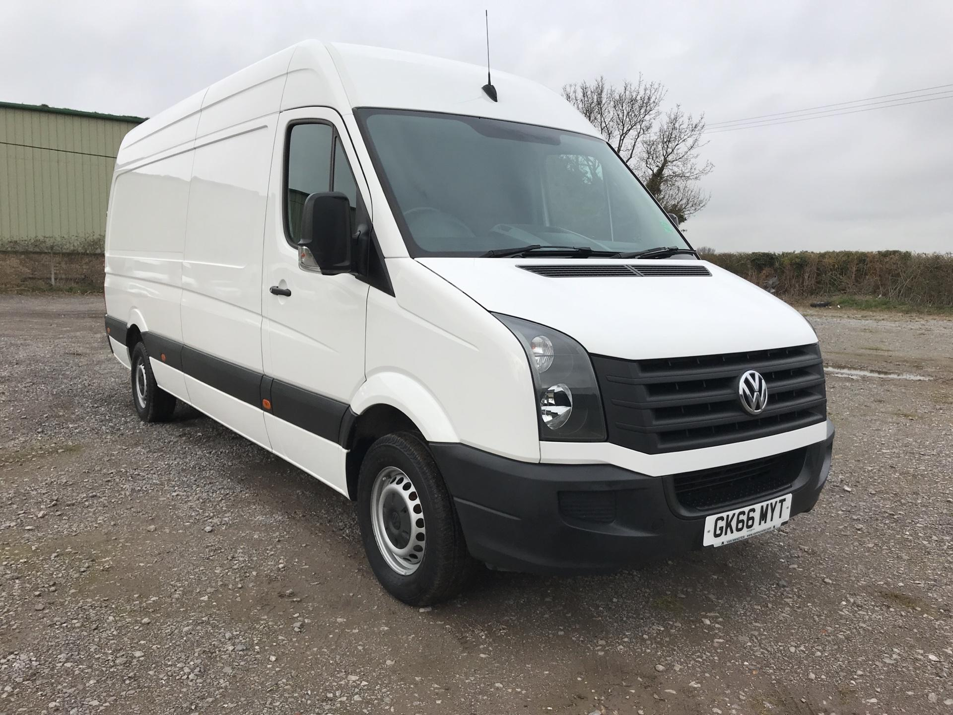 2016 Volkswagen Crafter CR35 LWB 2.0 136PS HIGH ROOF EURO 5  (GK66MYT)