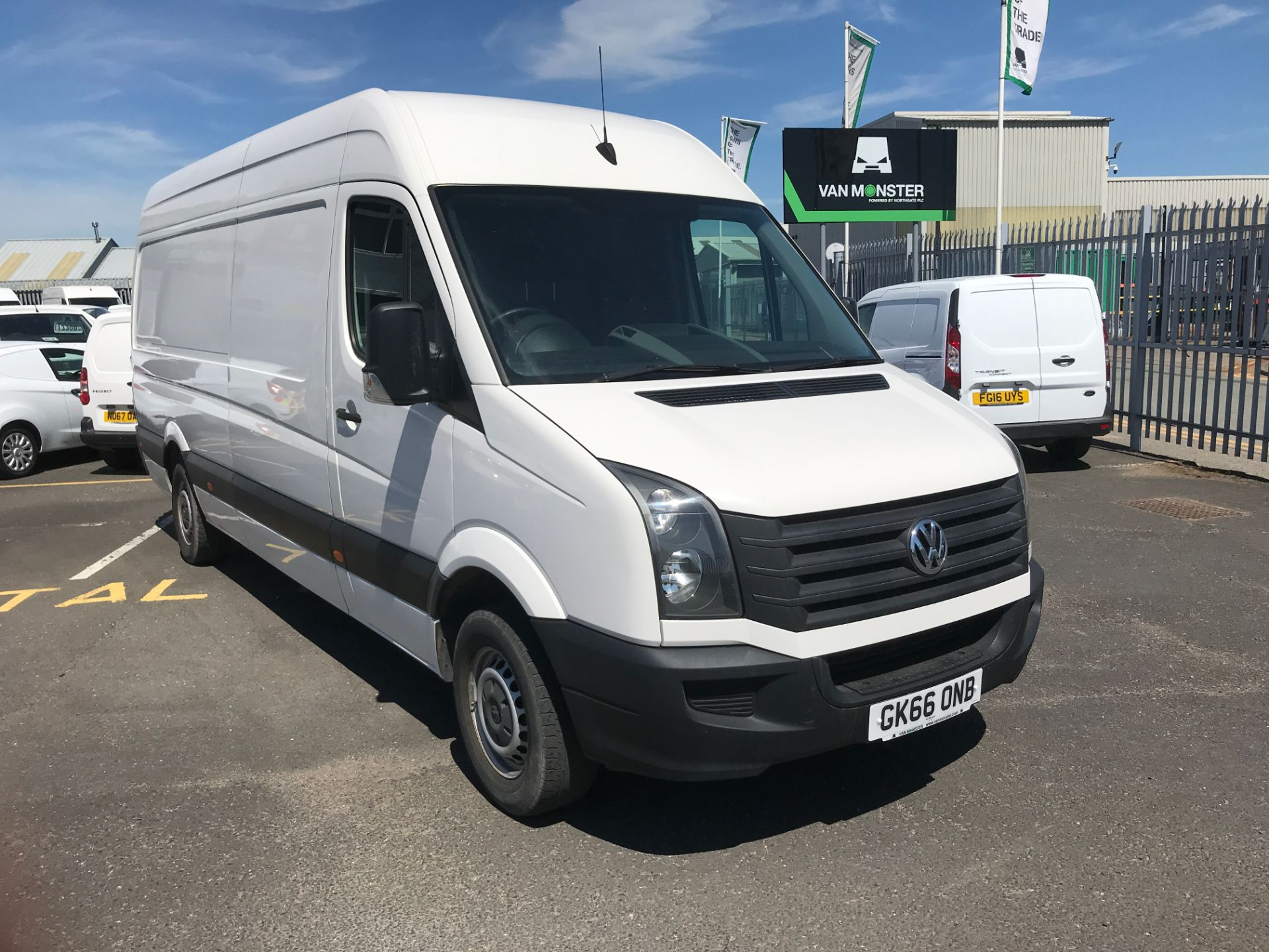 2016 Volkswagen Crafter  CR35 LWB 2.0TDI 136PS HIGH ROOF EURO 5 (GK66ONB)