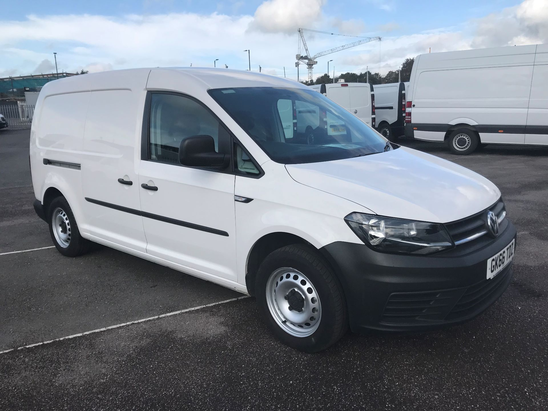 2016 Volkswagen Caddy Maxi  2.0 102PS BLUE MOTION TECH STARTLINE  (GK66TDZ)