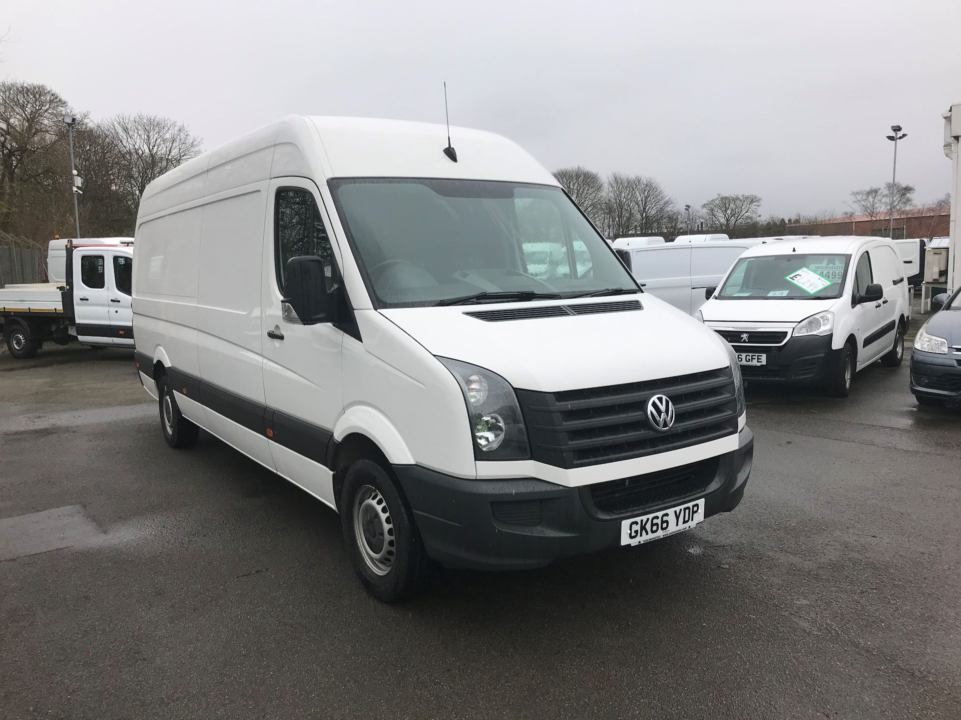 2016 Volkswagen Crafter  CR35 LWB 2.0 TDI 136PS HIGH ROOF EURO 5 (GK66YDP)