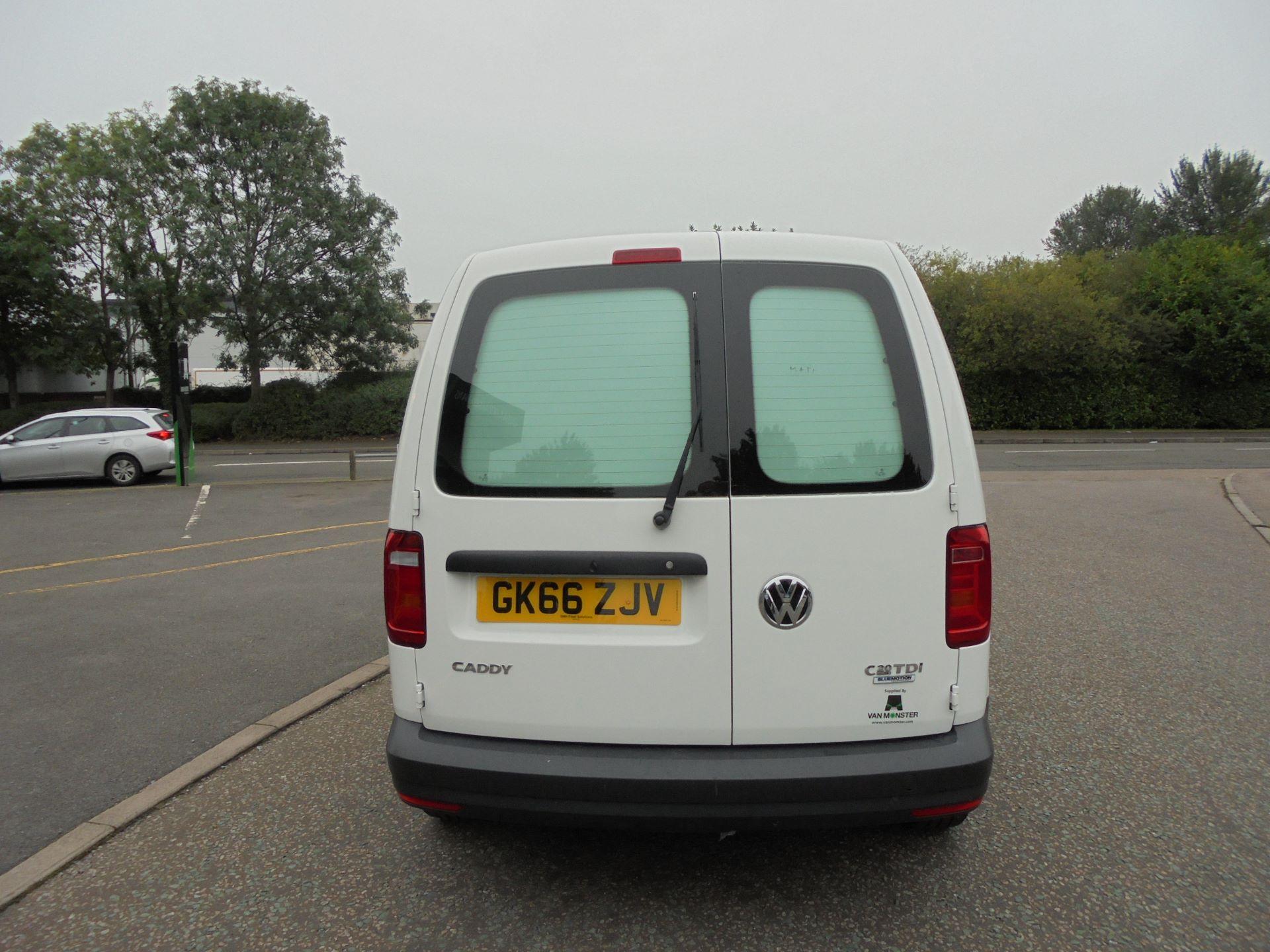 2016 Volkswagen Caddy  2.0 102PS BLUEMOTION TECH 102 STARTLINE EURO 6 (GK66ZJV) Image 4