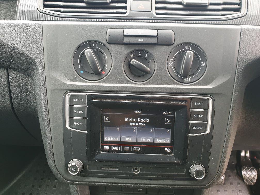 2017 Volkswagen Caddy  2.0 102PS BLUEMOTION TECH 102 STARTLINE EURO 6 (GK67SPZ) Image 20