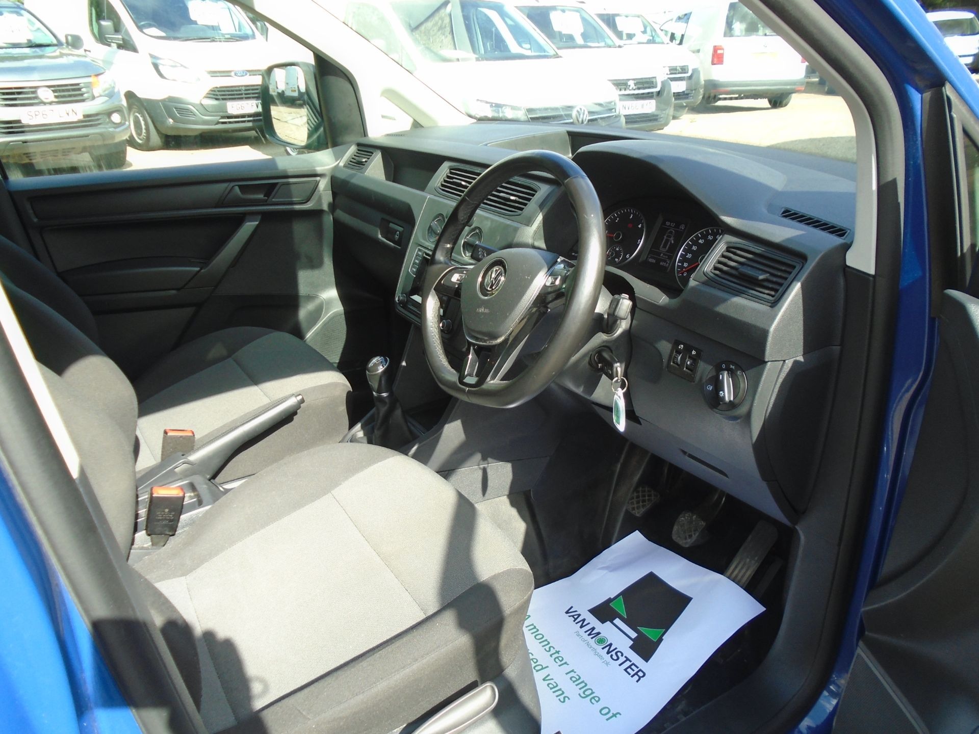 2017 Volkswagen Caddy 2.0 Tdi Bluemotion Tech 102Ps Startline Van (GK67STZ) Image 18