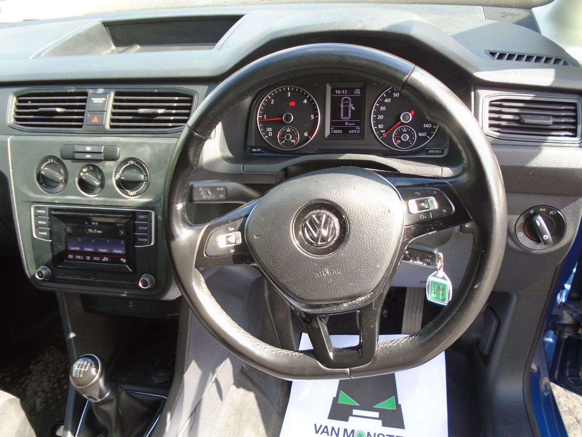2017 Volkswagen Caddy 2.0 Tdi Bluemotion Tech 102Ps Startline Van (GK67STZ) Image 20