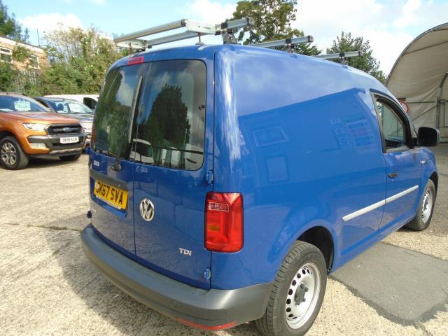 2017 Volkswagen Caddy 2.0 Tdi Bluemotion Tech 102Ps Startline Van (GK67SVA) Image 6