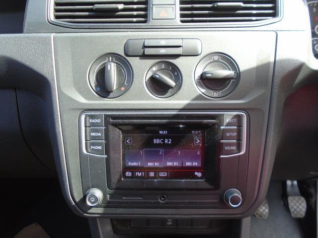 2017 Volkswagen Caddy 2.0 Tdi Bluemotion Tech 102Ps Startline Van (GK67SVA) Image 22