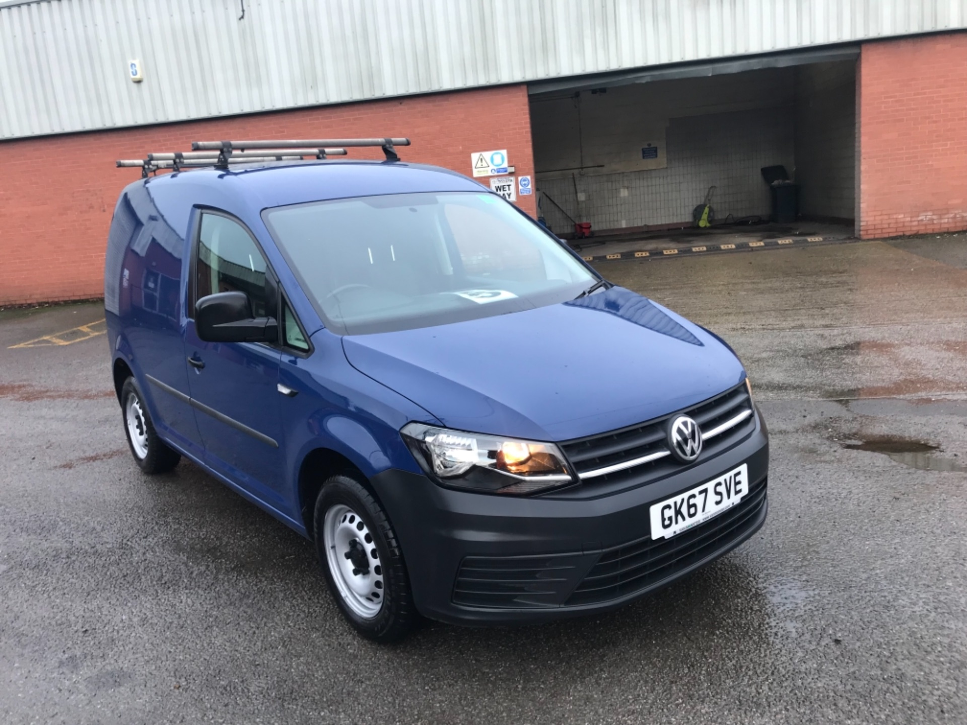 2017 Volkswagen Caddy 2.0 Tdi Bluemotion Tech 102Ps Startline Van EURO 6 (GK67SVE)