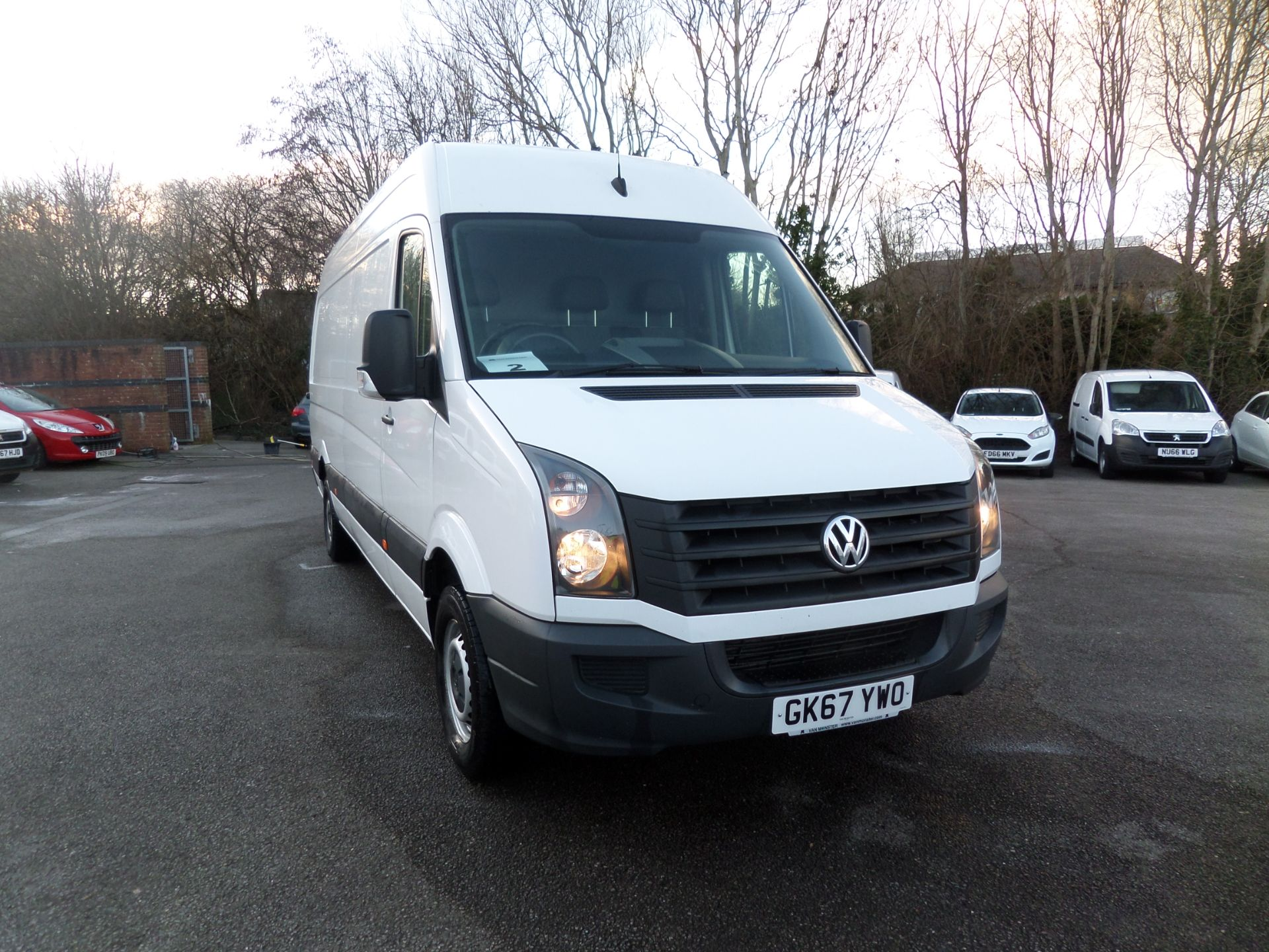 2017 Volkswagen Crafter 2.0 Tdi Bmt 140Ps High Roof Van Euro 6 ( 1 X Key) (GK67YWO)
