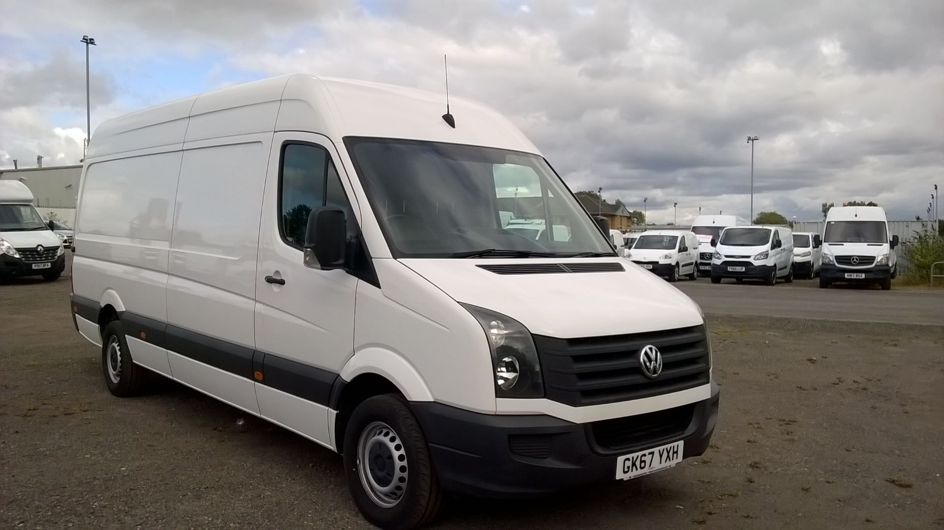 2017 Volkswagen Crafter  CR35 LWB DIESEL 2.0 BMT TDI 140PS HIGH ROOF EURO 6 (GK67YXH)