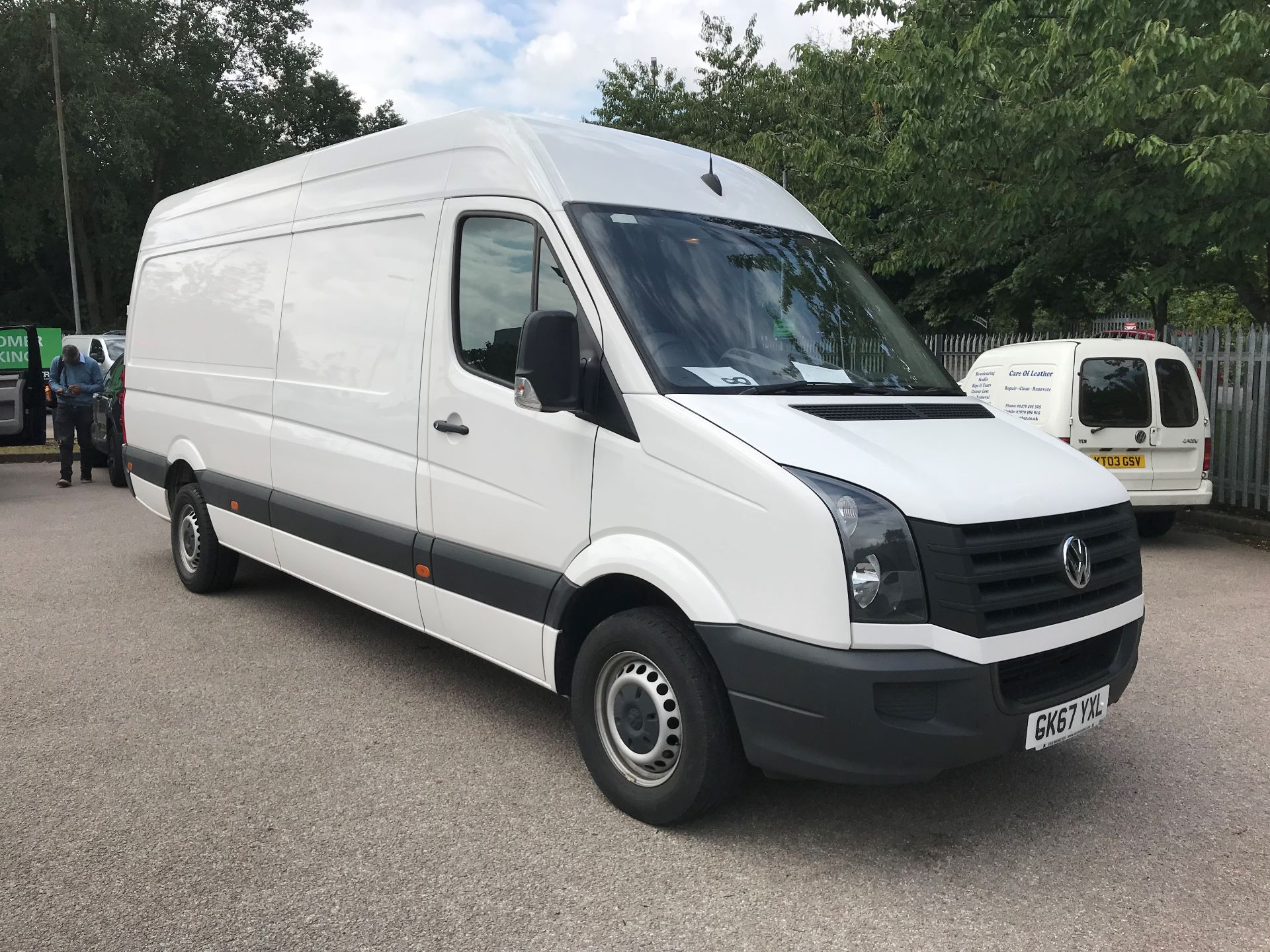 2017 Volkswagen Crafter  CR35 LWB DIESEL 2.0 BMT TDI 140PS HIGH ROOF EURO 6 (GK67YXL)
