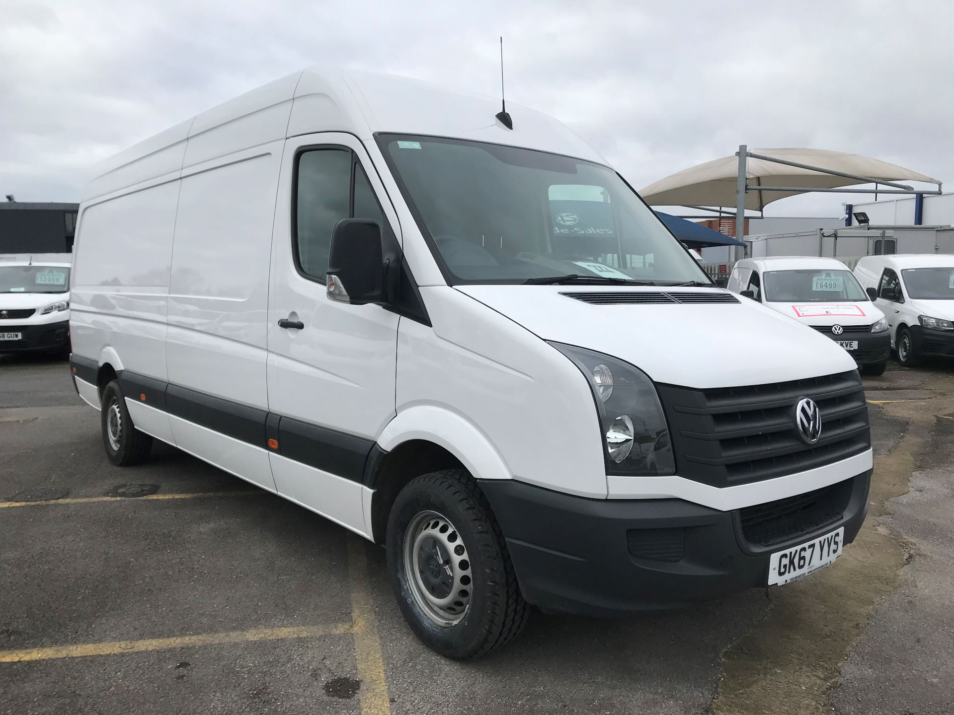 2017 Volkswagen Crafter 2.0 Tdi 140Ps Startline High Roof Van (GK67YYS)
