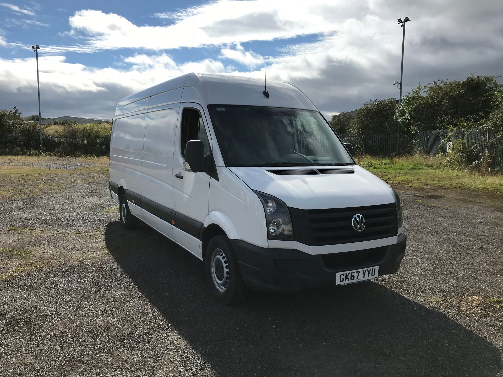 2017 Volkswagen Crafter 2.0 Tdi 140Ps Startline High Roof Van (GK67YYU)