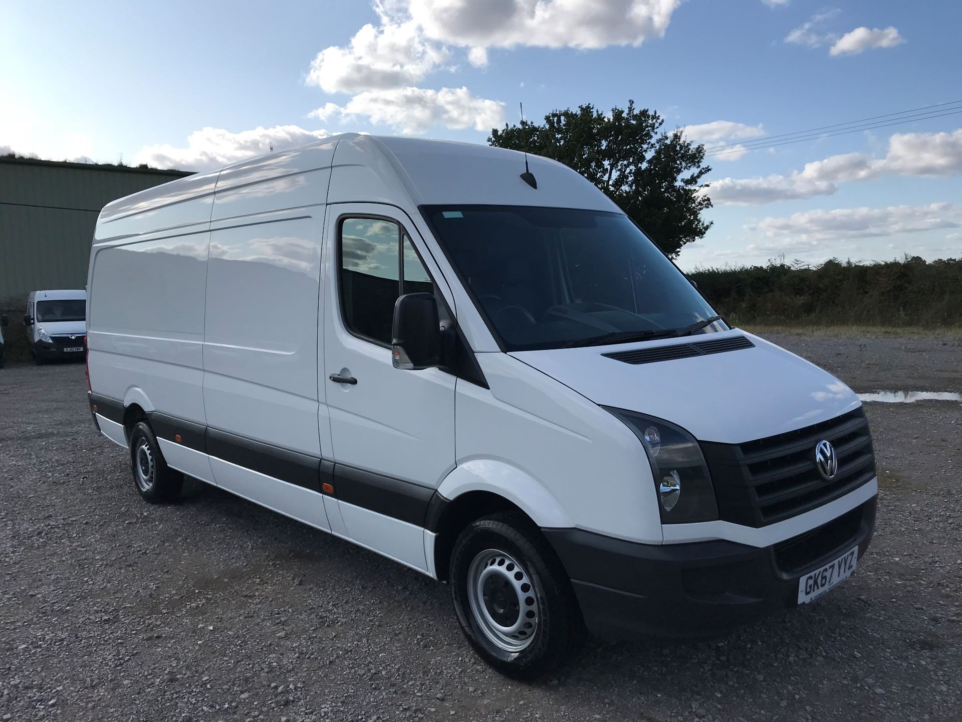 2017 Volkswagen Crafter CR35 LWB DIESEL 2.0 BMT TDI 140PS HIGH ROOF EURO 6