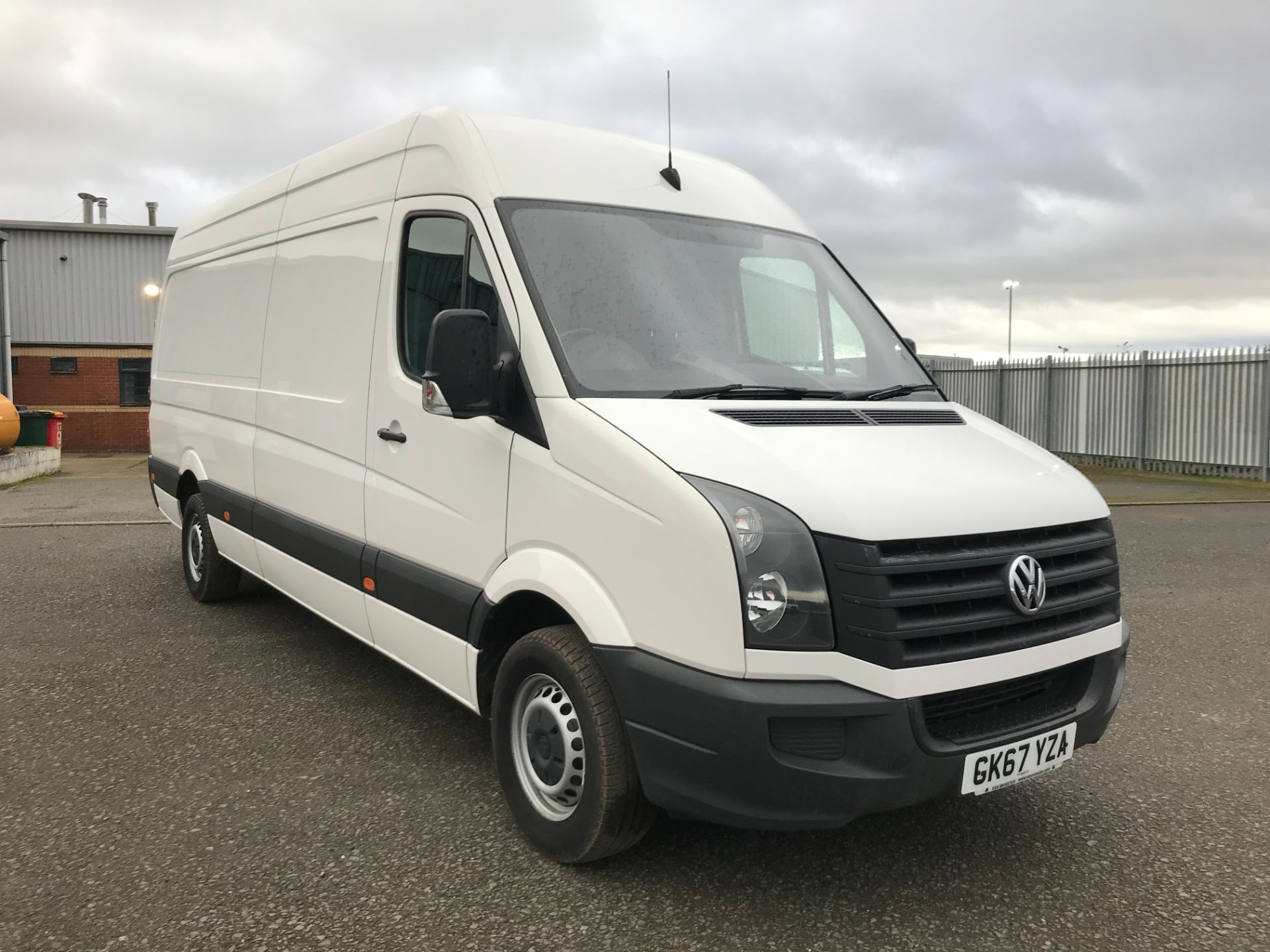 2017 Volkswagen Crafter 2.0 Tdi 140Ps Startline High Roof Van (GK67YZA)