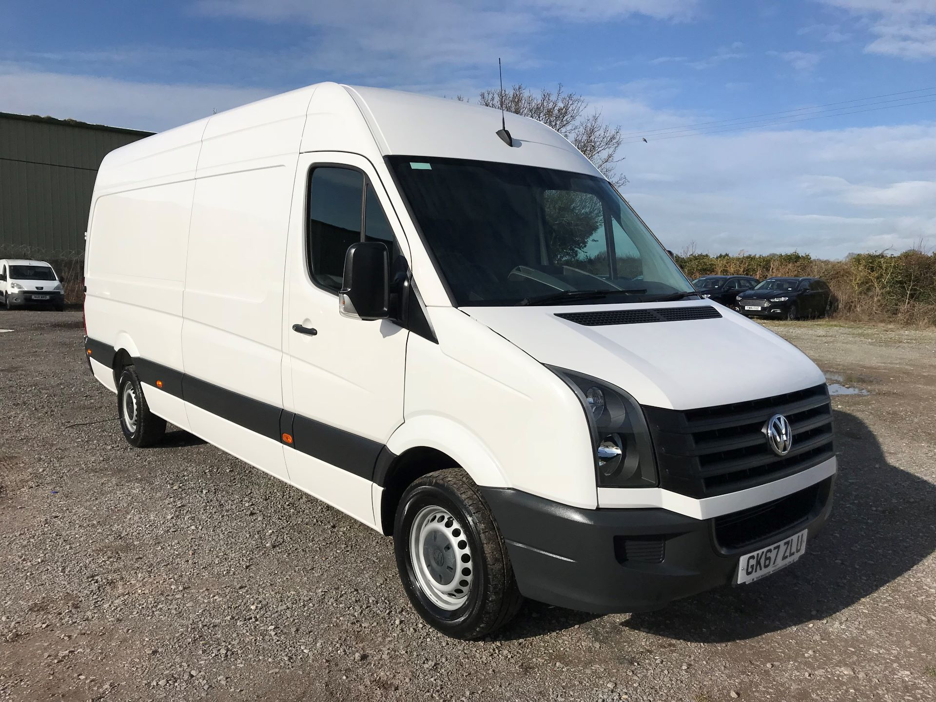 2017 Volkswagen Crafter CR35 LWB DIESEL 2.0 BMT TDI 140PS HIGH ROOF EURO 6 (GK67ZLU)