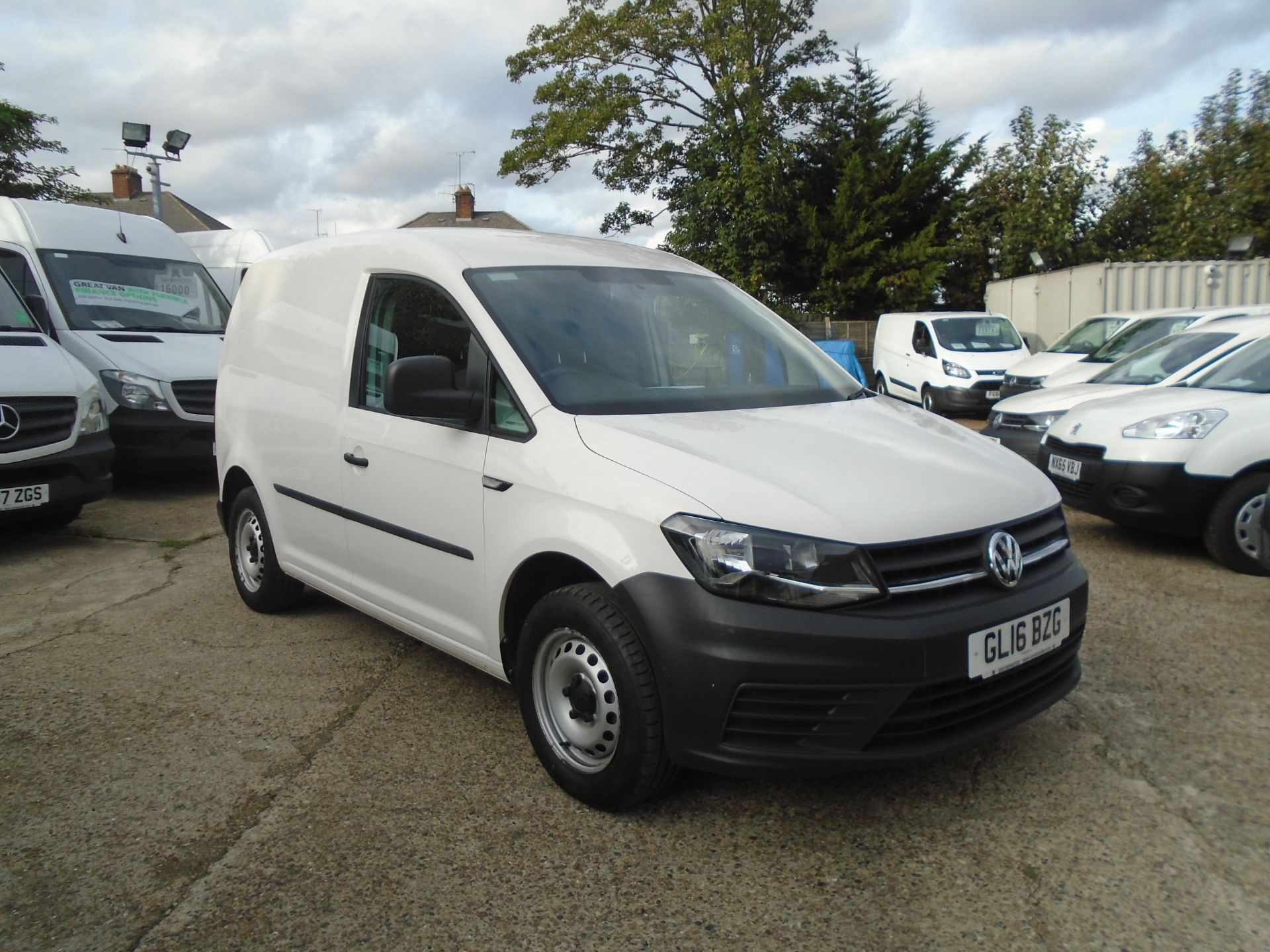 2016 Volkswagen Caddy 2.0 Tdi Bluemotion Tech 102Ps Startline Van (GL16BZG)
