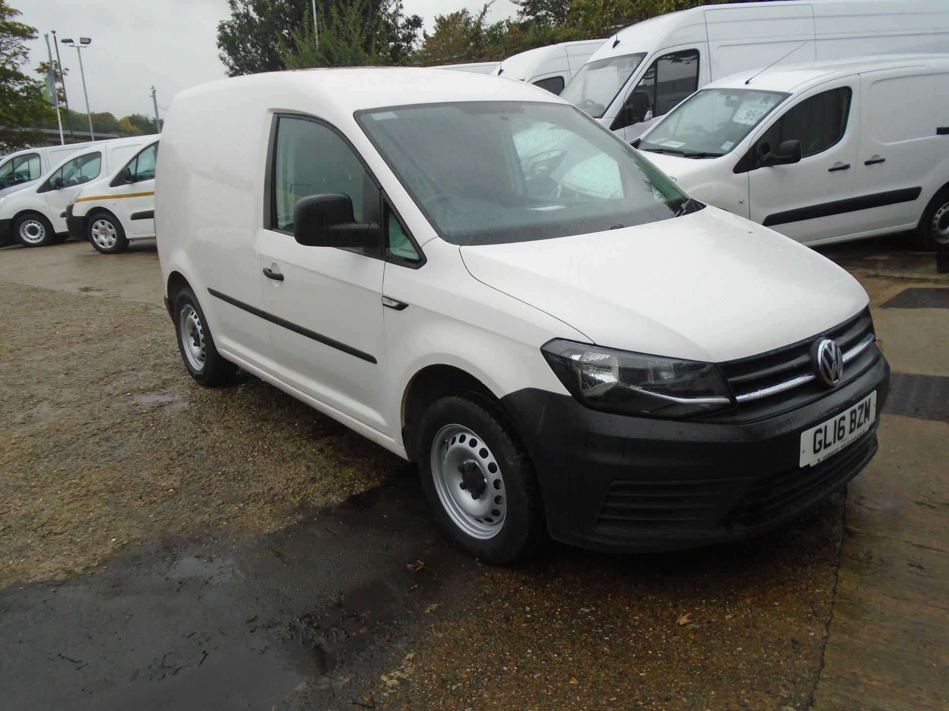 2016 Volkswagen Caddy 2.0 Tdi Bluemotion Tech 102Ps Startline Van (GL16BZM)