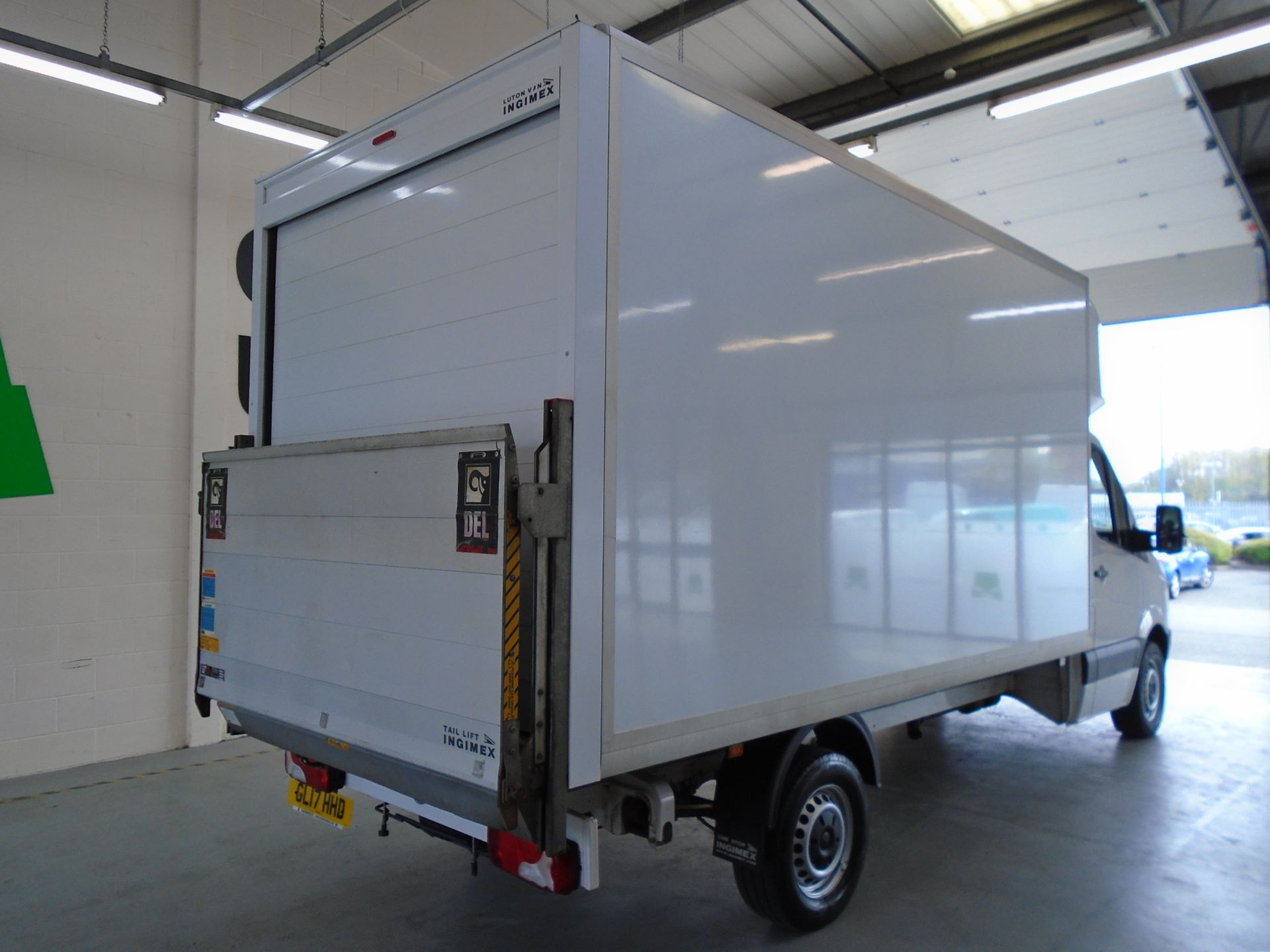 2017 Volkswagen Crafter 2.0 Tdi Bmt 140Ps LWB Luton Tail-Lift (GL17HHD) Image 10