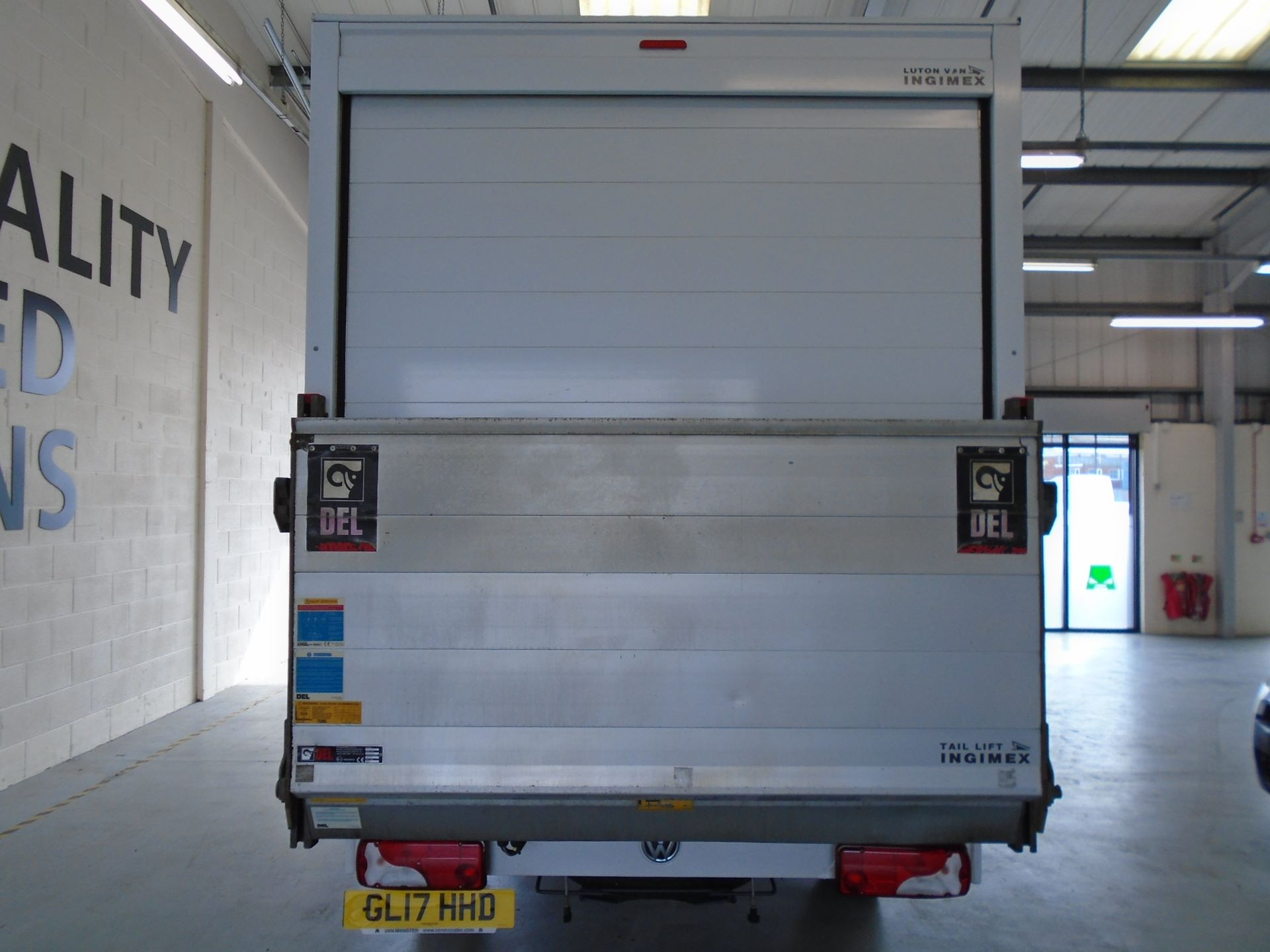 2017 Volkswagen Crafter 2.0 Tdi Bmt 140Ps LWB Luton Tail-Lift (GL17HHD) Image 9