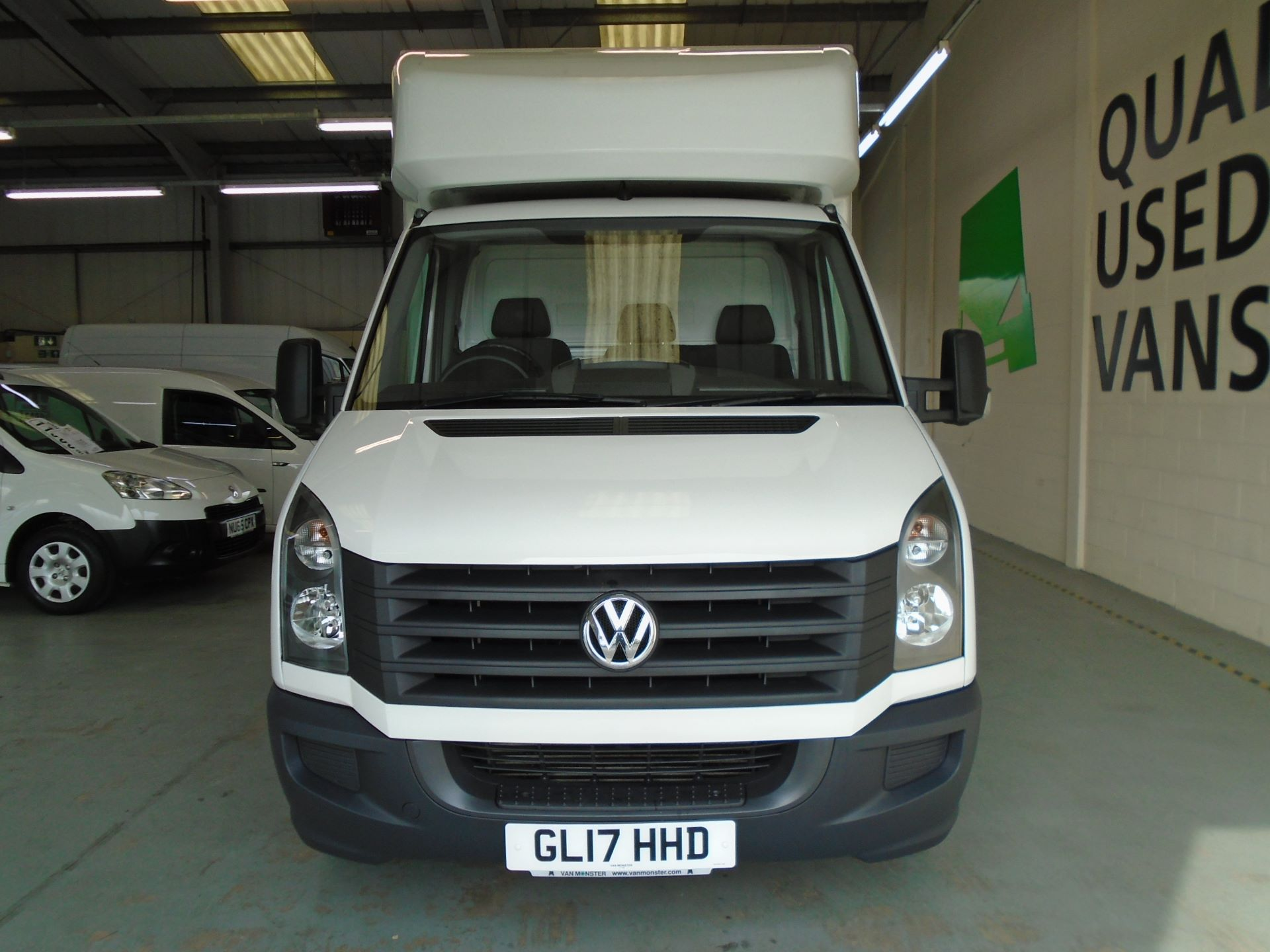 2017 Volkswagen Crafter 2.0 Tdi Bmt 140Ps LWB Luton Tail-Lift (GL17HHD) Image 2