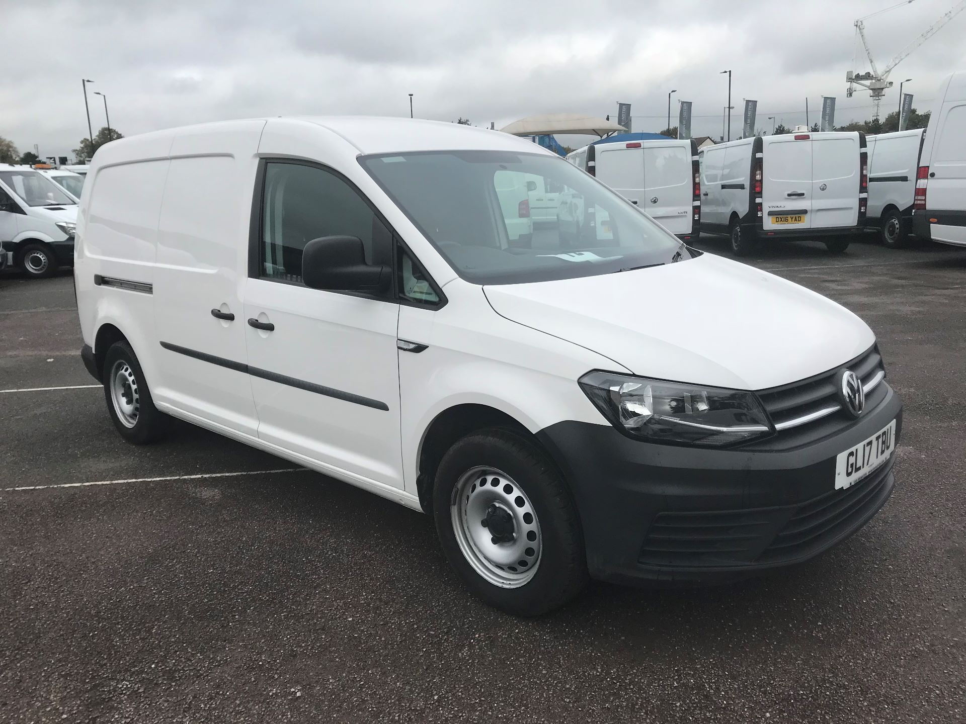 2017 Volkswagen Caddy   2.0 102PS BLUEMOTION TECH 102PS STARLINE EURO 6 (GL17TBU)