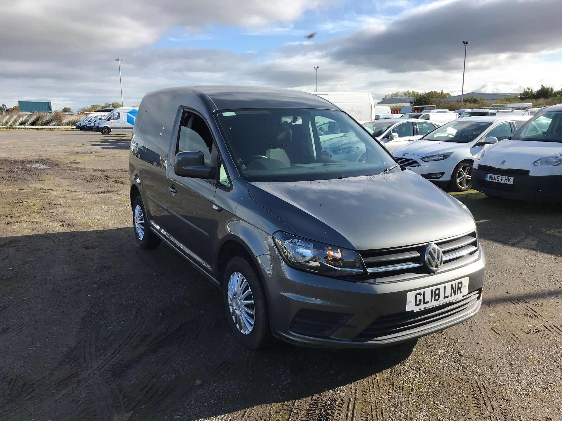 2018 Volkswagen Caddy 2.0 Tdi Bluemotion Tech 102Ps + Trendline [Ac] Van (GL18LNR)