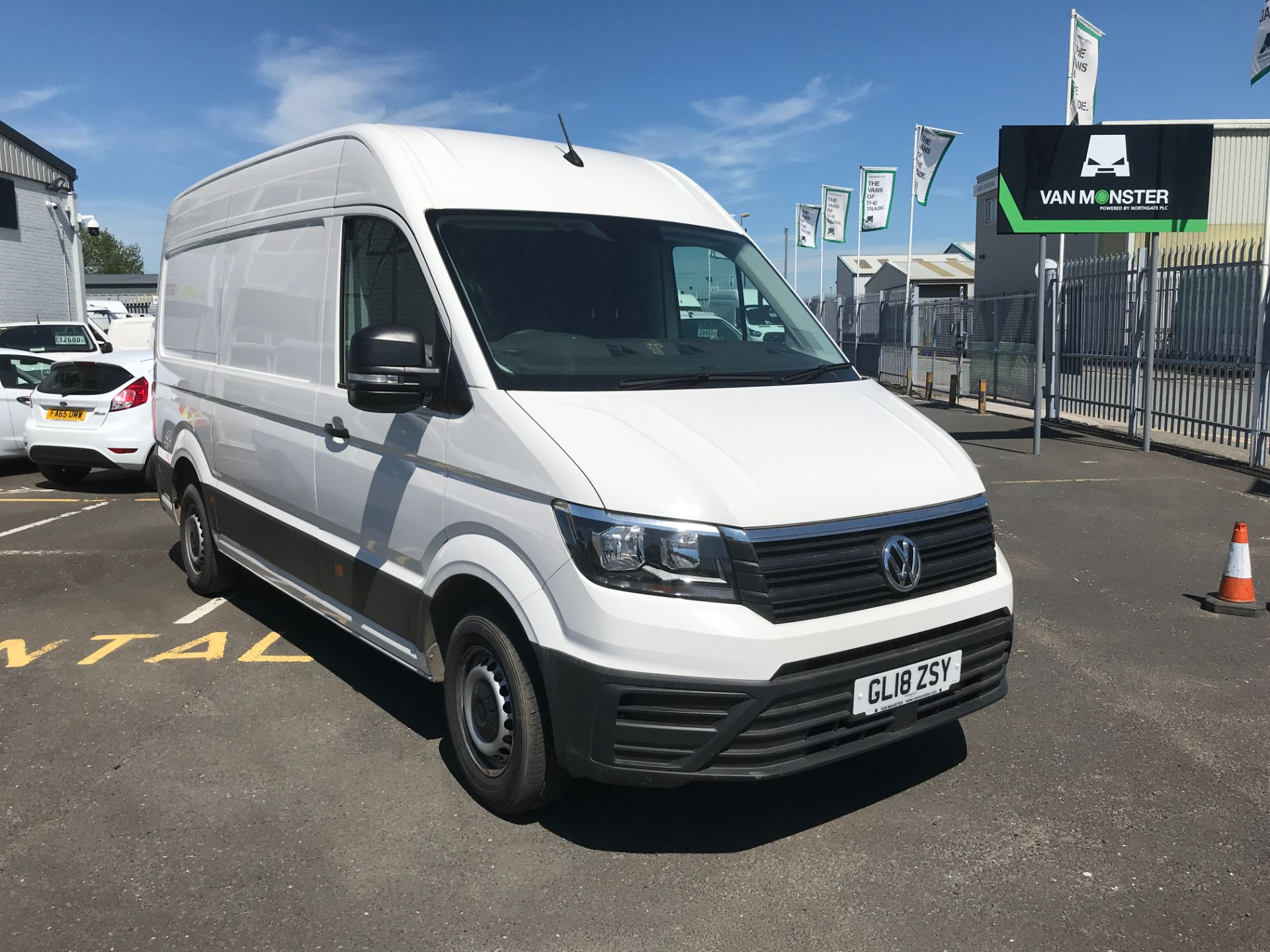 2018 Volkswagen Crafter CR35 MWB 2.0TDI HIGH ROOF 140PS EURO 6 (GL18ZSY)