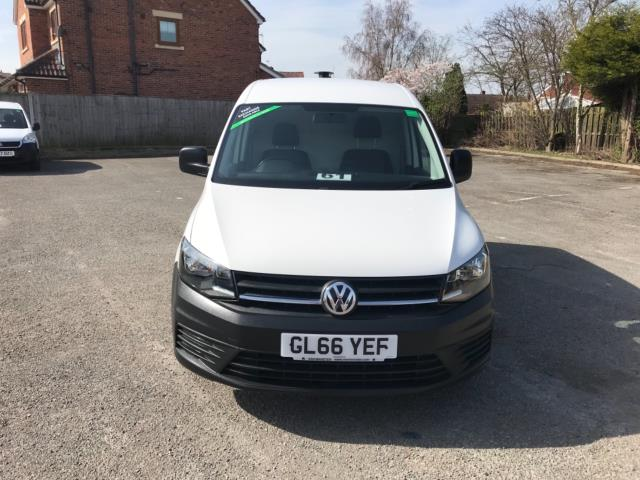 2017 Volkswagen Caddy 2.0 Tdi Bluemotion Tech 102Ps Startline Van Euro 6 (GL66YEF) Image 2
