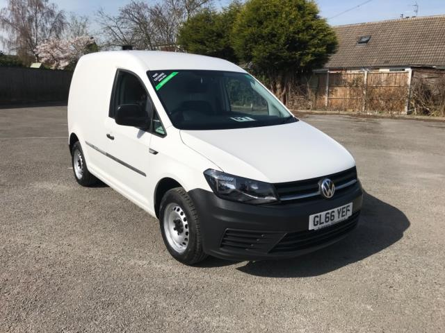 2017 Volkswagen Caddy 2.0 Tdi Bluemotion Tech 102Ps Startline Van Euro 6 (GL66YEF) Image 1