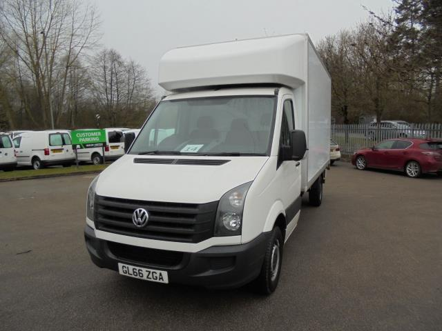 2016 Volkswagen Crafter 2.0 Tdi 136Ps LUTON WITH TAIL LIFT (GL66ZGA) Image 2