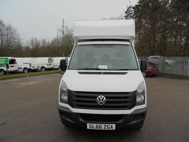 2016 Volkswagen Crafter 2.0 Tdi 136Ps LUTON WITH TAIL LIFT (GL66ZGA) Image 3