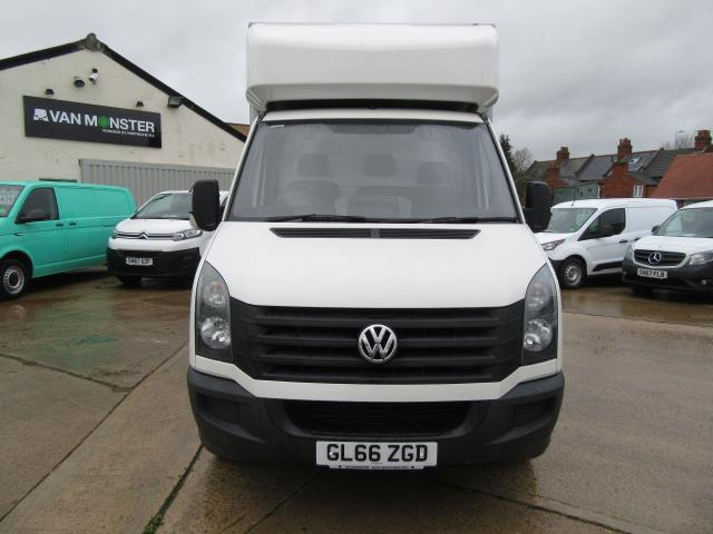 2016 Volkswagen Crafter  CR35 LWB DIESEL 2.0 TDI 136PS LUTON T/L  EURO 5 (GL66ZGD) Image 4