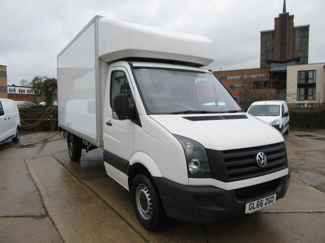 2016 Volkswagen Crafter  CR35 LWB DIESEL 2.0 TDI 136PS LUTON T/L  EURO 5 (GL66ZGD) Image 1