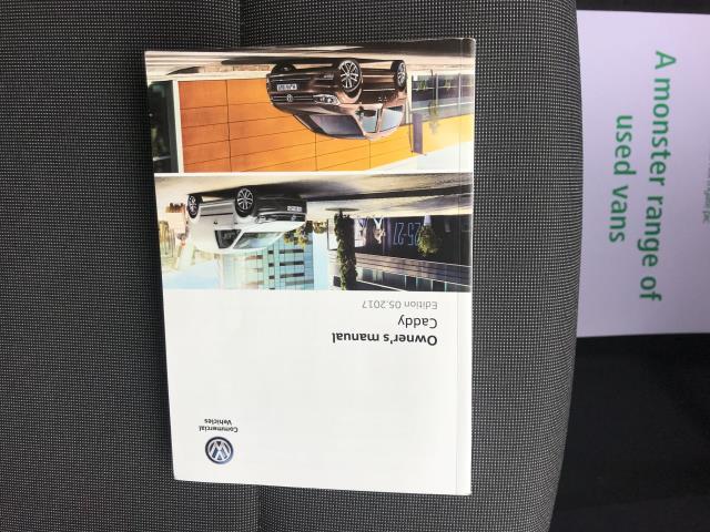 2017 Volkswagen Caddy  2.0 102PS BLUEMOTION TECH 102 STARTLINE EURO 6 (GL67TWP) Image 42