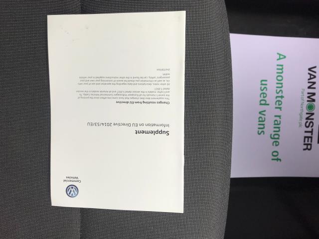 2017 Volkswagen Caddy  2.0 102PS BLUEMOTION TECH 102 STARTLINE EURO 6 (GL67TWP) Image 44