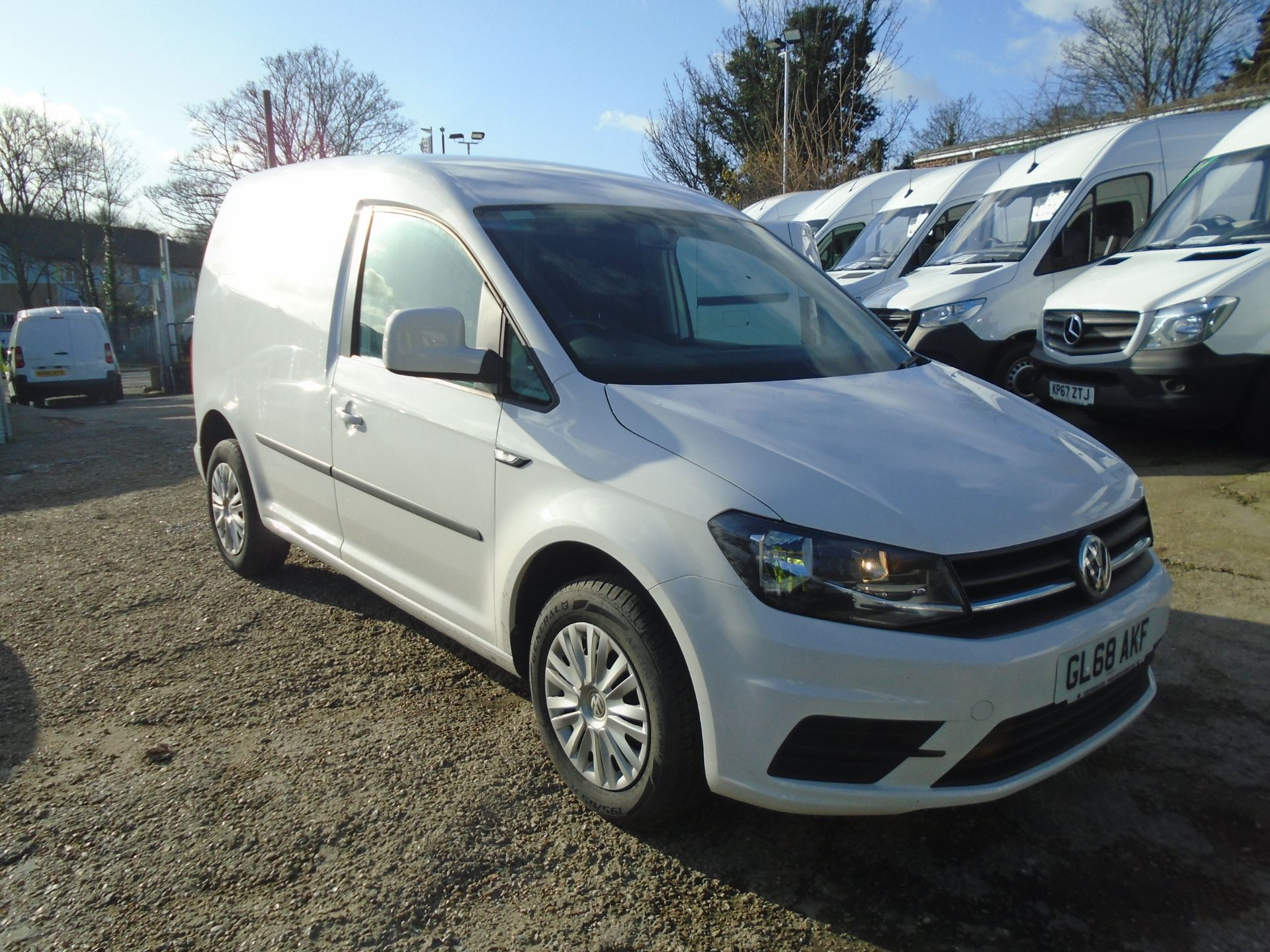 2018 Volkswagen Caddy 2.0 Tdi Bluemotion Tech 102Ps Trendline [Ac] Van (GL68AKF)