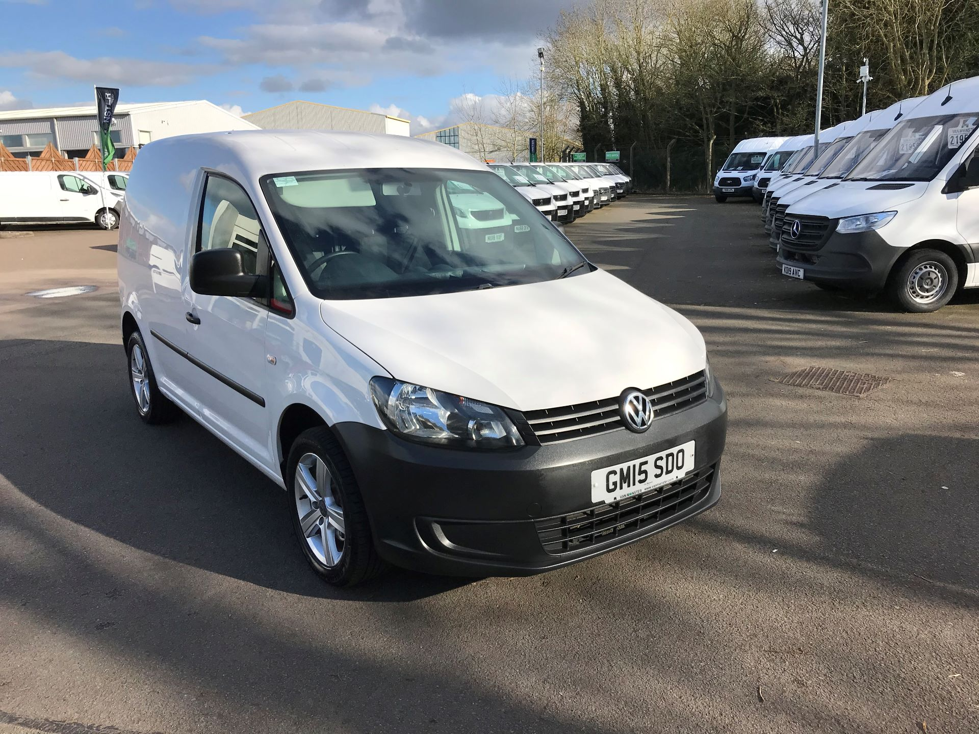 2015 Volkswagen Caddy  1.6 102PS STARTLINE EURO 5 ** NO VAT** (GM15SDO)