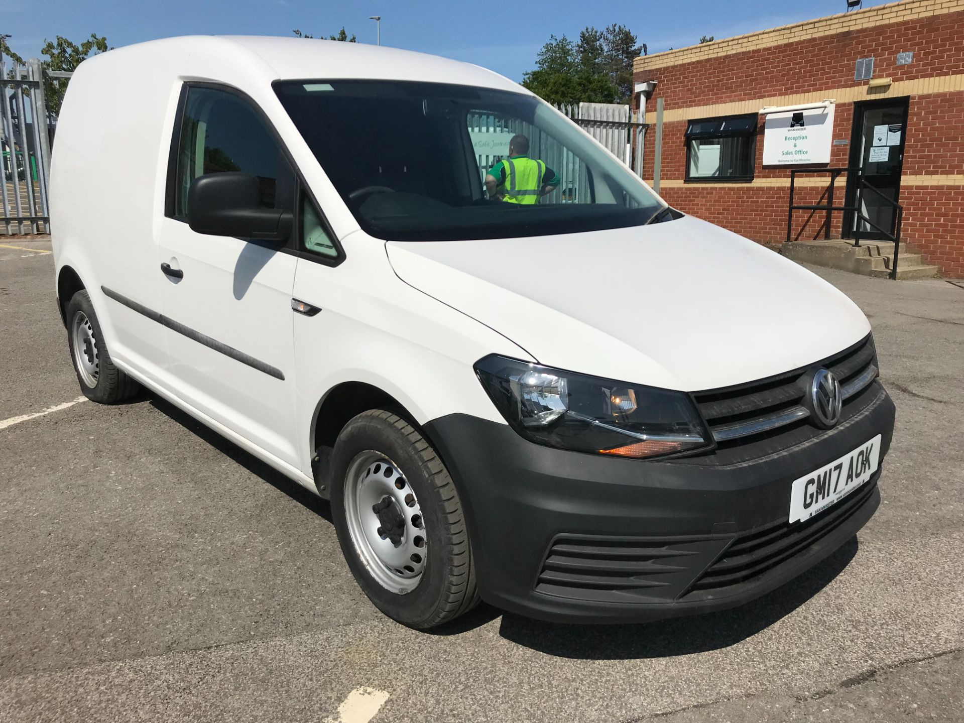 2017 Volkswagen Caddy 2.0 Tdi Bluemotion Tech 102Ps Startline Van (GM17AOK)