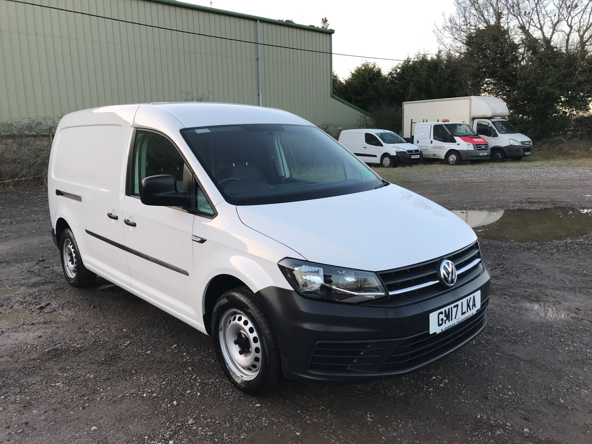 2017 Volkswagen Caddy  2.0 102PS BLUEMOTION TECH 102 STARTLINE EURO 6 (GM17LKA)