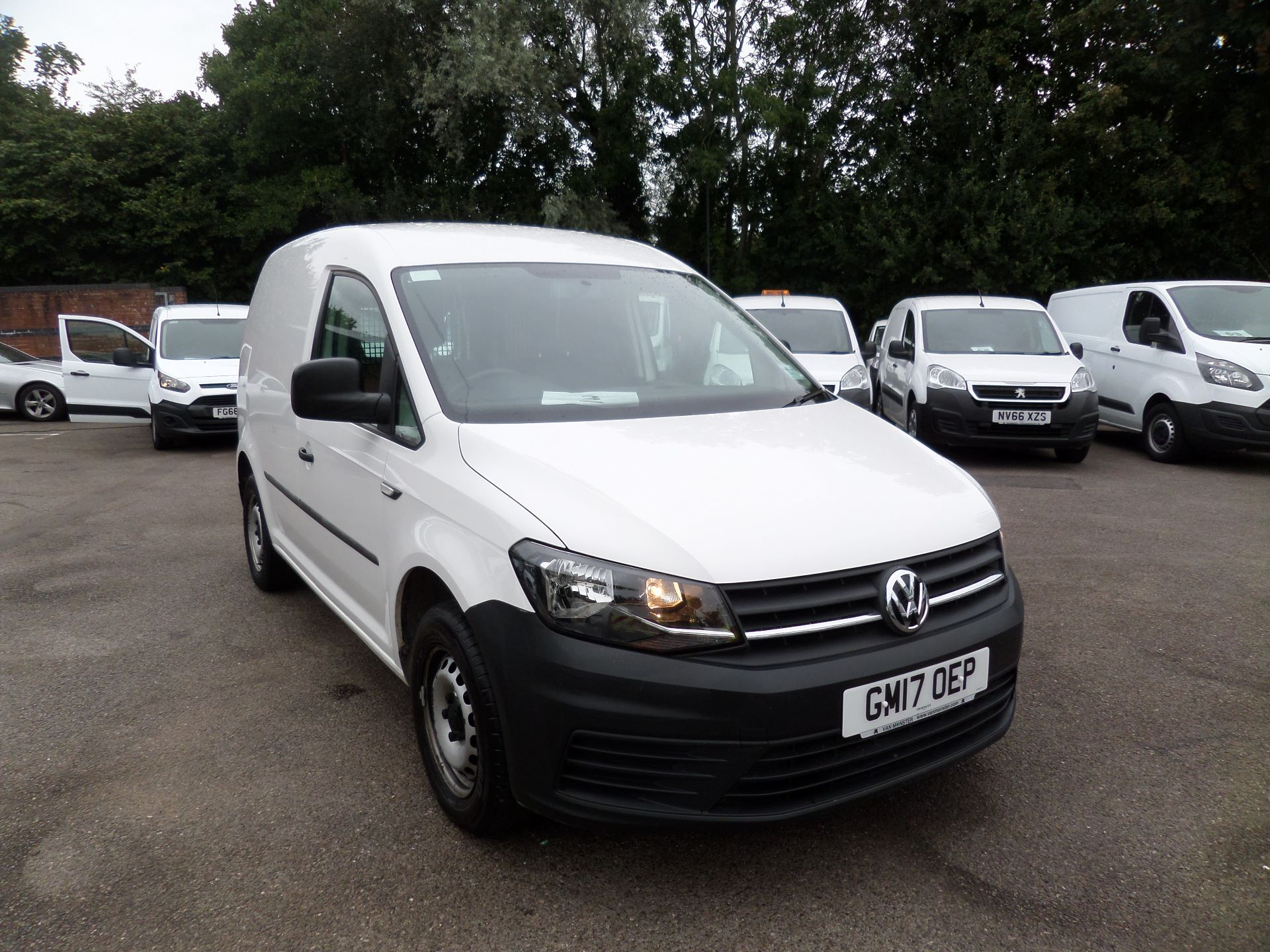 2017 Volkswagen Caddy 2.0 Tdi Bluemotion Tech 102Ps Startline Van Euro 6 (GM17OEP)
