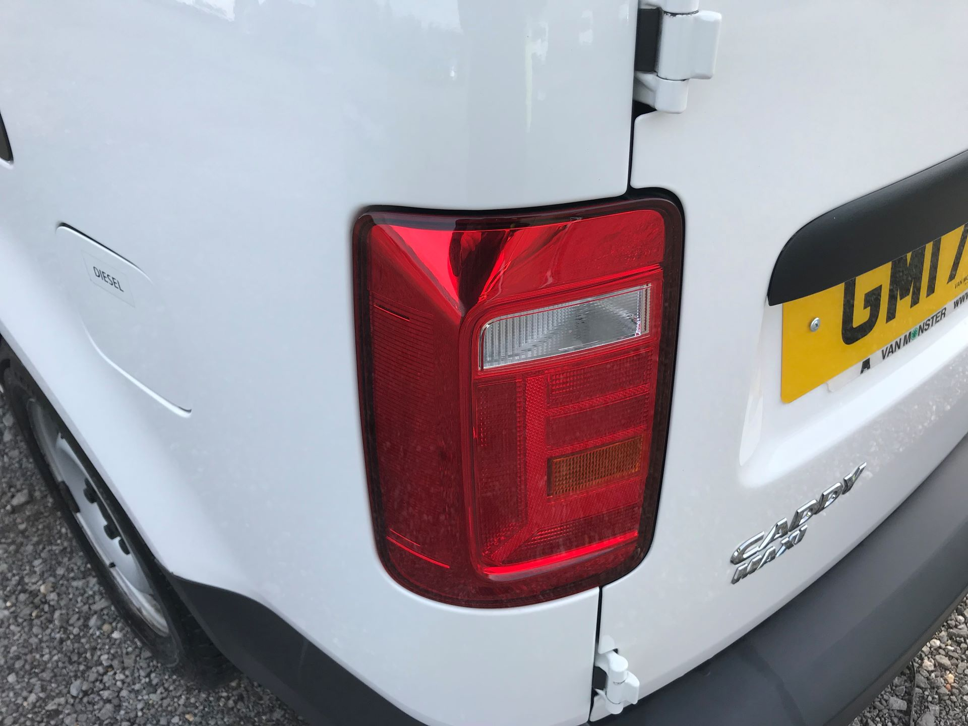 2017 Volkswagen Caddy Maxi  2.0 102PS BLUEMOTION TECH 102 STARTLINE EURO 6 (GM17OFX) Image 16