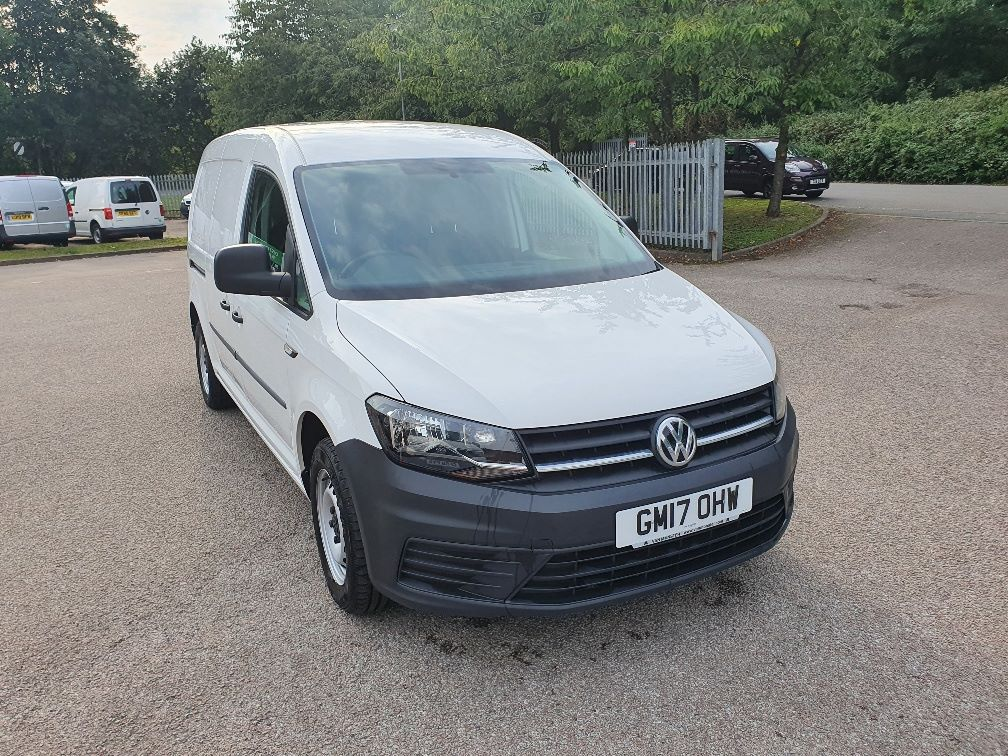 2017 Volkswagen Caddy Maxi MAXI C20 2.0 Tdi Bluemotion Tech 102Ps Startline Van (GM17OHW) Image 1