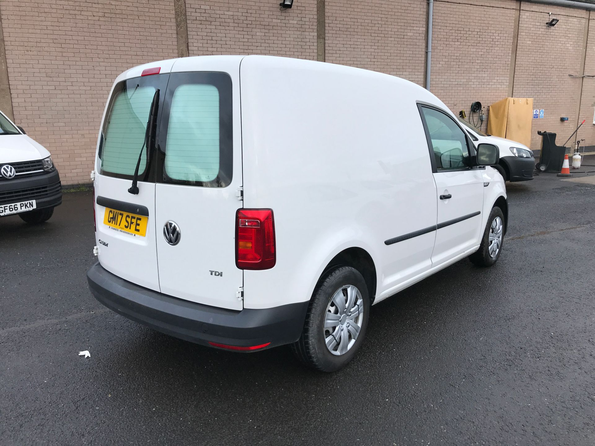 2017 Volkswagen Caddy 2.0TDI 102PS BLUEMOTION TECH STARTLINE EURO 6 (GM17SFE) Image 8