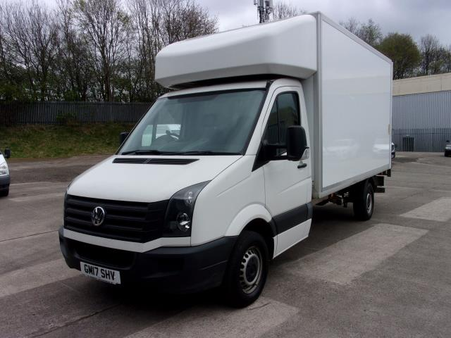 2017 Volkswagen Crafter CR35 LWB 2.0 Tdi Bmt 140Ps Luton with Tail Lift  (GM17SHV) Image 15
